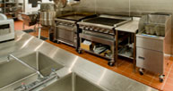 Image of commercial kitchen